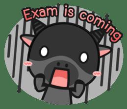 Bufflo Bufflo : Exam Week sticker #4220224