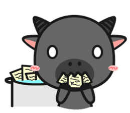 Bufflo Bufflo : Exam Week sticker #4220228