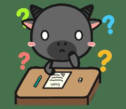 Bufflo Bufflo : Exam Week sticker #4220229