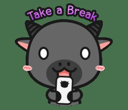 Bufflo Bufflo : Exam Week sticker #4220231