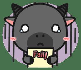 Bufflo Bufflo : Exam Week sticker #4220236