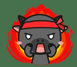 Bufflo Bufflo : Exam Week sticker #4220240