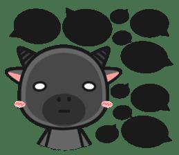Bufflo Bufflo : Exam Week sticker #4220250