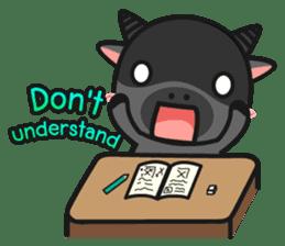 Bufflo Bufflo : Exam Week sticker #4220253