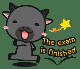 Bufflo Bufflo : Exam Week sticker #4220263
