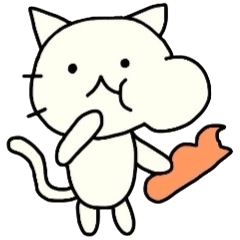 The loose cat sticker