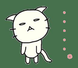 The loose cat sticker sticker #4221808