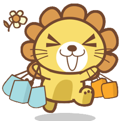 Lori the happy lion