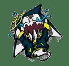 Ghost shark sticker #4238844