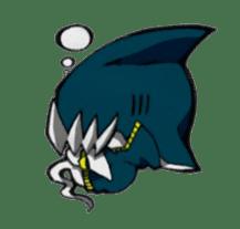 Ghost shark sticker #4238851