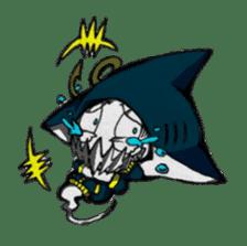 Ghost shark sticker #4238865