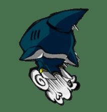 Ghost shark sticker #4238869