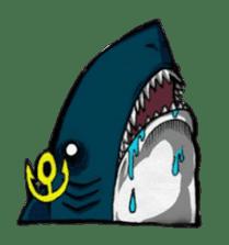 Ghost shark sticker #4238879