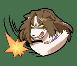 Human Dogs sticker #4242751