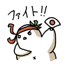 Eggplant penguin sticker #4243441