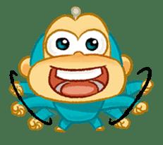 Alien Monkeys sticker #4243525