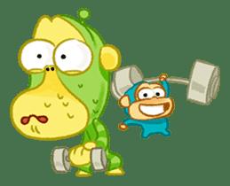 Alien Monkeys sticker #4243530