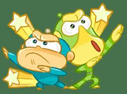 Alien Monkeys sticker #4243549