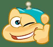 Alien Monkeys sticker #4243551