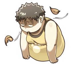Daily Lives of Chubby Boy sticker #4248246