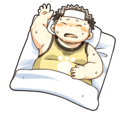 Daily Lives of Chubby Boy sticker #4248251