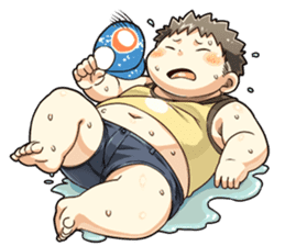 Daily Lives of Chubby Boy sticker #4248252