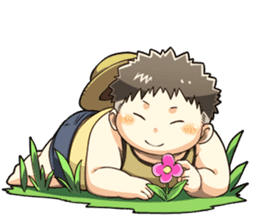 Daily Lives of Chubby Boy sticker #4248279