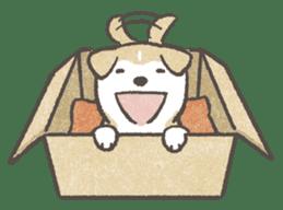 Shiba-Puppy! sticker #4256560
