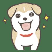 Shiba-Puppy! sticker #4256563