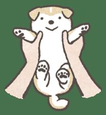 Shiba-Puppy! sticker #4256567