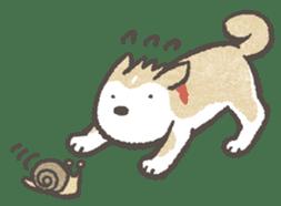 Shiba-Puppy! sticker #4256568