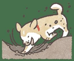 Shiba-Puppy! sticker #4256571