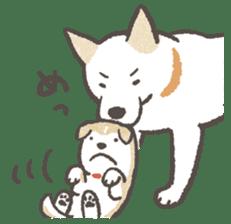 Shiba-Puppy! sticker #4256575