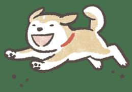 Shiba-Puppy! sticker #4256576