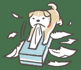 Shiba-Puppy! sticker #4256579