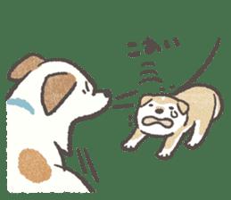 Shiba-Puppy! sticker #4256584