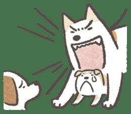 Shiba-Puppy! sticker #4256585