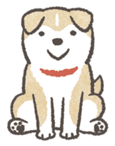 Shiba-Puppy! sticker #4256587