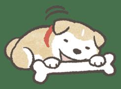 Shiba-Puppy! sticker #4256588