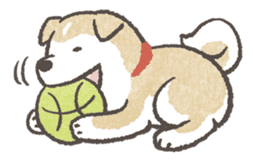 Shiba-Puppy! sticker #4256589