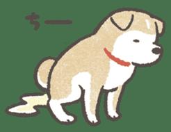 Shiba-Puppy! sticker #4256592