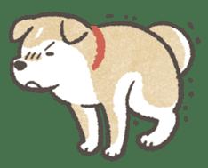 Shiba-Puppy! sticker #4256593