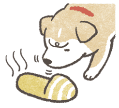 Shiba-Puppy! sticker #4256594
