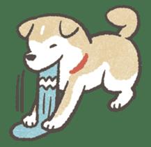 Shiba-Puppy! sticker #4256595
