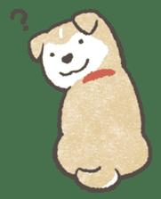 Shiba-Puppy! sticker #4256596