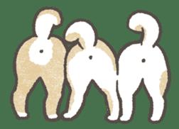 Shiba-Puppy! sticker #4256599