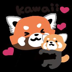 kawaii lesser panda