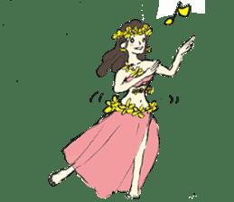 Belly Dance sisters sticker #4259361