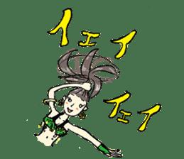 Belly Dance sisters sticker #4259368