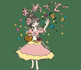 Belly Dance sisters sticker #4259369